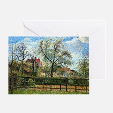 Pissarro: Pear Tree and Flowers at E Greeting Card