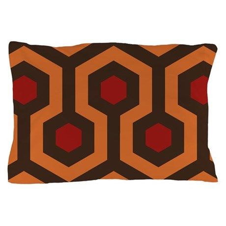 Horrible Hexagon Pattern Pillow Case