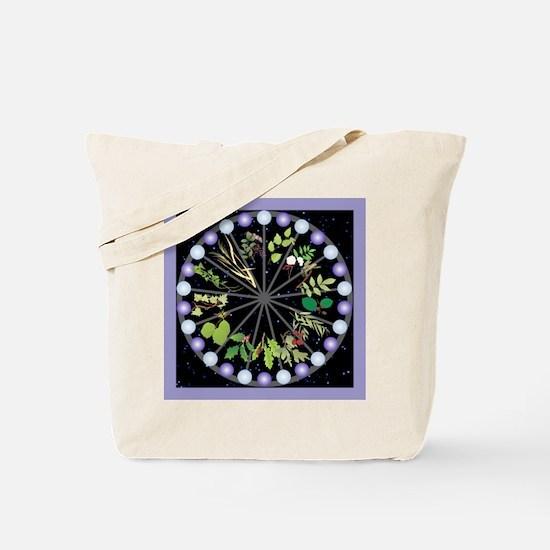 Celtic Calendar of Trees Tote Bag
