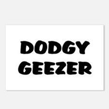 DODGY GEEZER Postcards (Package of 8)
