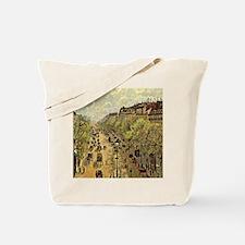 Pissarro: Boulevard Montmarte Tote Bag