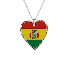 Flag of Bolivia Necklace