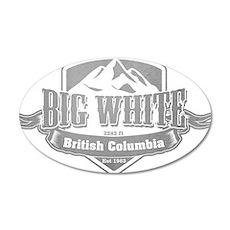 Big White British Columbia Ski Resort 5 Wall Stick