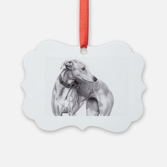 Funny Galgo Ornament
