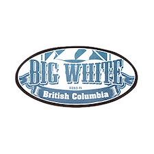 Big White British Columbia Ski Resort 1 Patches