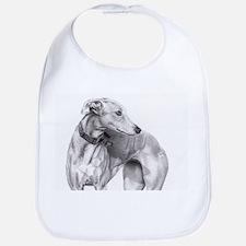 Greyhound Baby Bib