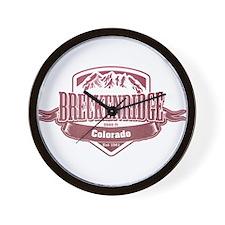 Breckenridge Colorado Ski Resort 2 Wall Clock