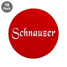 """Schnauzer 3.5"""" Button (10 pack)"""