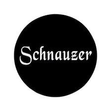 """Schnauzer 3.5"""" Button (100 pack)"""