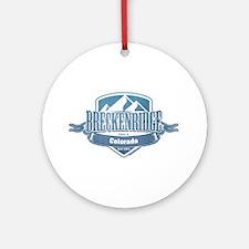 Breckenridge Colorado Ski Resort 1 Ornament (Round