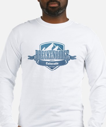 Breckenridge Colorado Ski Resort 1 Long Sleeve T-S