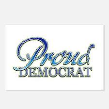 Classy Proud Democrat Postcards (Package of 8)