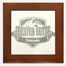 Crested Butte Colorado Ski Resort 5 Framed Tile