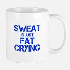 sweat-is-just-fat-crying-cap-blue Mugs