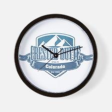 Crested Butte Colorado Ski Resort Wall Clock