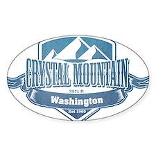 Crystal Mountain Washington Ski Resort 1 Decal