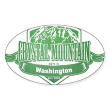Crystal Mountain Washington Ski Resort 3 Decal