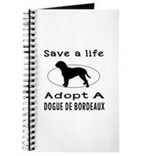 Adopt A Dogue De Bordeaux Dog Journal