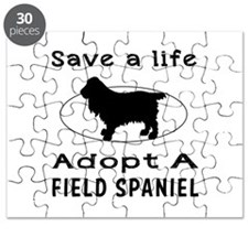 Adopt A Field Spaniel Dog Puzzle