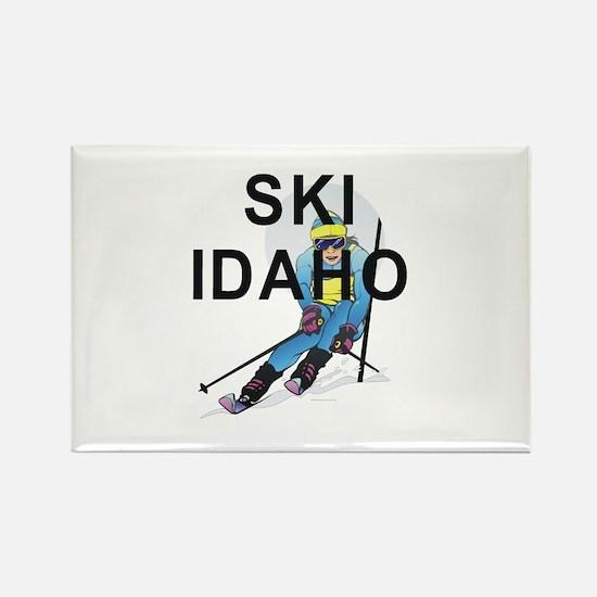 TOP Ski Idaho Rectangle Magnet
