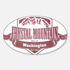 Crystal Mountain Washington Ski Resort 2 Decal