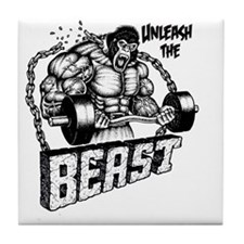 Unleash The Beast Tile Coaster