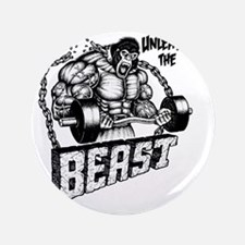 "Unleash The Beast 3.5"" Button"