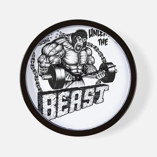 Unleash The Beast Wall Clock