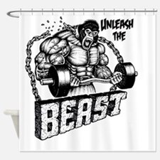 Unleash The Beast Shower Curtain