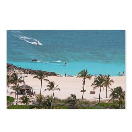 Paradise Island Beach - Postcards (Package of 8)
