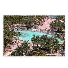 Paradise Island Pool - Postcards (Package of 8)