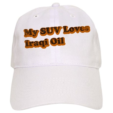 SUV Loves Iraqi Oil Cap