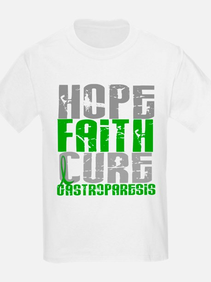Gastroparesis Hope Faith Cure T-Shirt