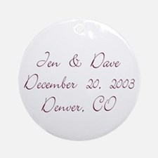 Jen & Dave