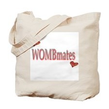 Wombmates - red Tote Bag