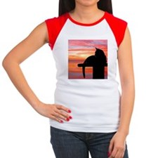 Cats at Sunset Women's Cap Sleeve T-Shirt