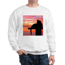 Cats at Sunset Sweatshirt