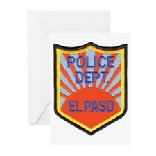 El Paso Police Greeting Cards (Pk of 10)