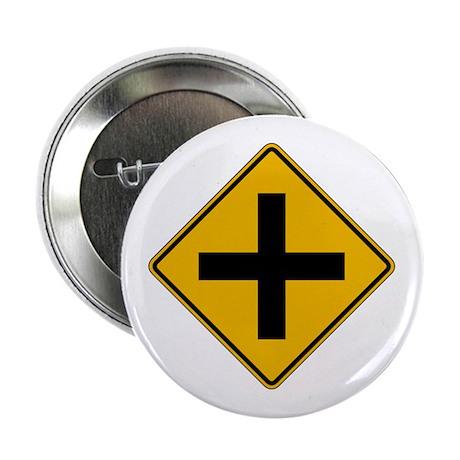 Cross Road - USA Button