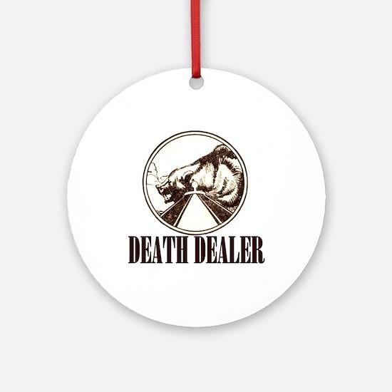 DEATH DEALER Ornament (Round)