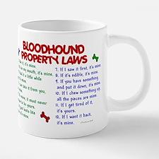 Bloodhound Property Laws 2 Mugs