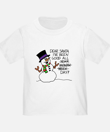 Santa Good All Day T-Shirt