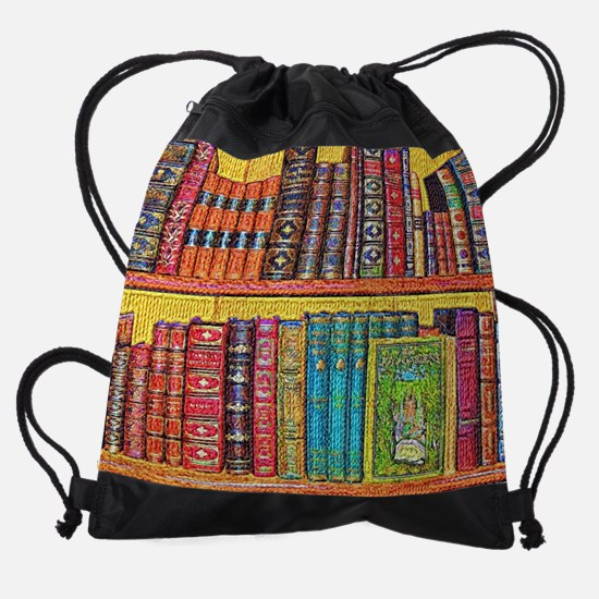 Library Drawstring Bag