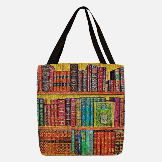 Library Polyester Tote Bag