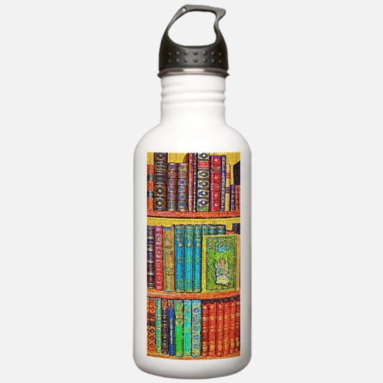 Library Water Bottle