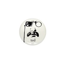 Teddy Roosevelt Mini Button (10 pack)