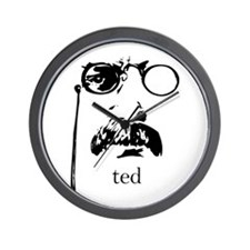 Teddy Roosevelt Wall Clock