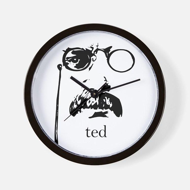 Teddy Roosevelt Wall Clock