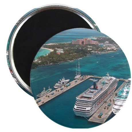 Cruise Ships - Magnet