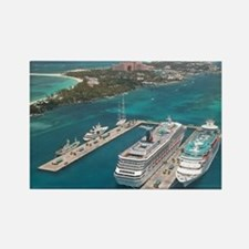 Cruise Ships - Rectangle Magnet